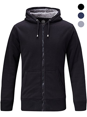 Zipper Hooded Fleece - 4