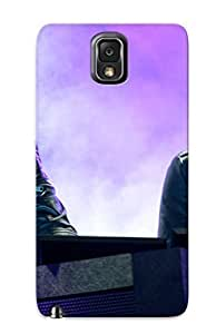 Crazylove Design High Quality Daft Punk Cover Case With Ellent Style For Galaxy Note 3(nice Gift For Christmas)