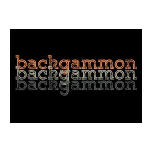 Idakoos Backgammon repeat retro - Sports - Sticker Pack x4 ()