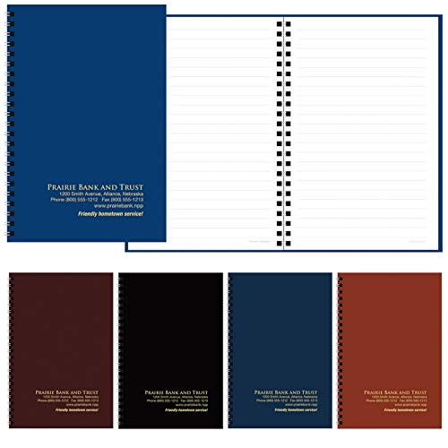 BIC Graphic Classic Notebook Standard Leatherette Navy 100 Pack by BIC (Image #1)