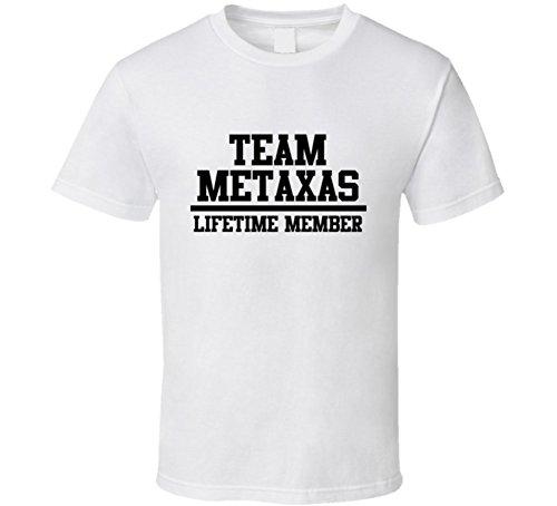 team-metaxas-lifetime-member-last-name-cool-t-shirt-xl-white