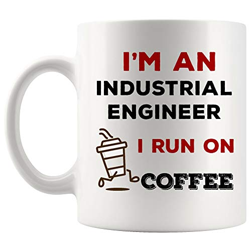 Energy Fuel Run on Coffee Industrial Engineer Mug Best Coffee Cup Gift Morning People | Funny Gift Mom Dad Graduation Future Student Most Awesome from WingToday