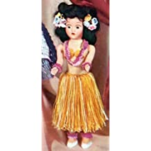 MISS HAWAII DOLL - A Vintage 1951 Crochet Pattern...crocheted Hawaiian Hula Dolly Luau...Kindle eBook download