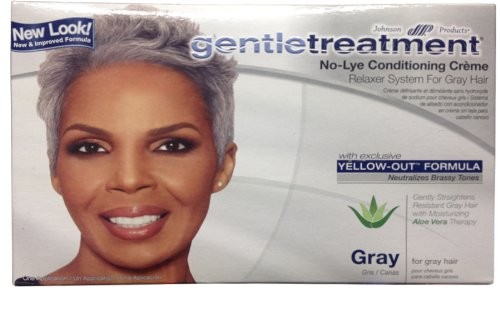 Gentle Treatment Relaxer for Grey No-lye Kit, 1count by Gentle Treatment