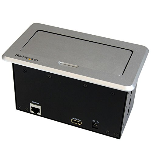 41B3gQpB 8L - StarTech.com BOX4HDECP Conference Table Connectivity Box - HDMI/VGA/Mini DisplayPort to HDMI Output with Fast Charge USB and Ethernet Pass-Through