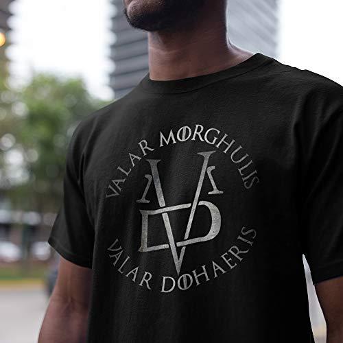Valar-Morgulis-Dohaeris TV Series Sayings Customized T-Shirt/Long Sleeve/Sweatshirt/Hoodie/Tank Top