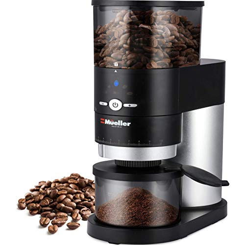 Mueller Ultra-Grind Conical Burr Grinder Professional Series, Innovative Detachable PowderBlock Grinding Chamber for…