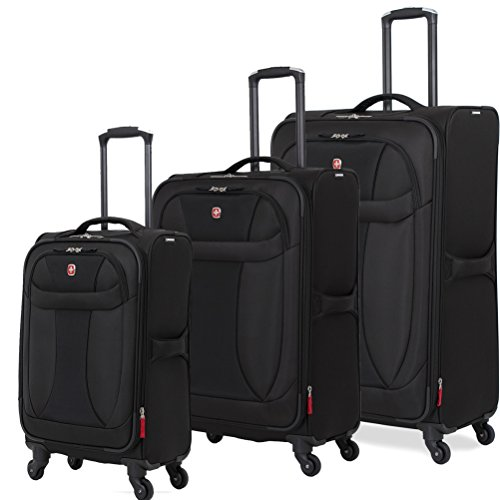 SwissGear Neo Lite VPM Spinner 3 Piece Set Black
