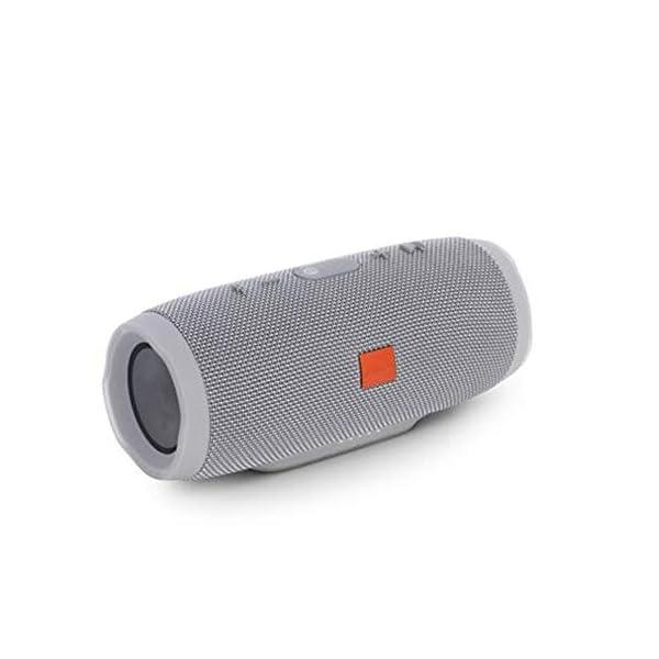 Haut-Parleur Portable Bluetooth étanche Voyage en Plein airRouge sans Fil Audio 213mmx87mm de Subwoofer de Haut-Parleur de Bluetooth de Tissu 4