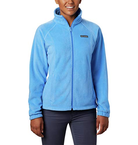 Columbia Women's Petite Benton Springs Full Zip Fleece Jacket - Medium - Charcoal Heather