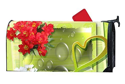 MALBX Glamour Card Halloween Kitten Magnetic Mailbox Cover O'Lantern -