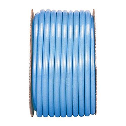 【50m×4個】 SHデラックス ホース ブルー 内径 22mm ×外径 28mm 中ビ カ施 代不 B0776PXHWV