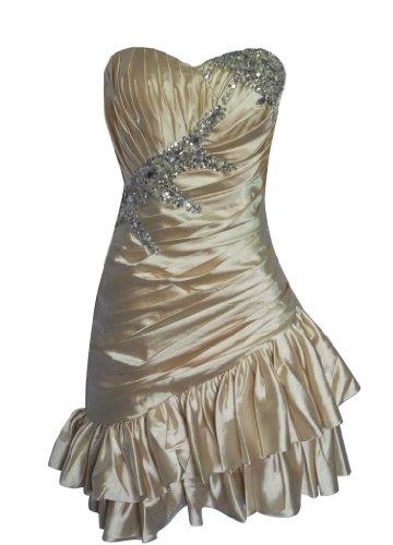 Y Kleid Cremefarben Fashion Damen Alivila HTdpwqq