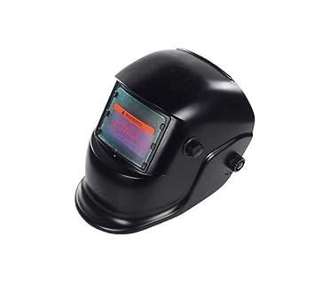 Máscara De Soldadura Solar Casco De Oscurecimiento Automático Oscuridad Ajustable Din9-13 Máscara De Soldadura De Arco Alta Temperatura Radiación: ...