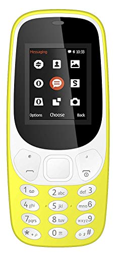 IKALL K3310 Basic Feature Mobile Phone 64MB Yellow