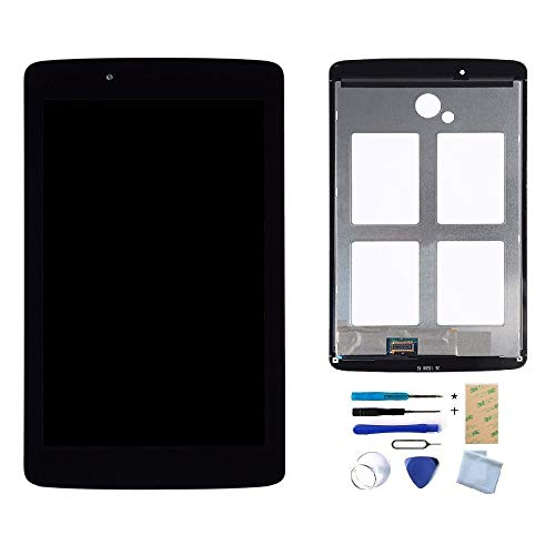 XR MARKET Compatible LG V410 Screen Replacement, LCD Display Touch Screen Digitizer Assembly, for LG V400 VK410 V410G Pad 7.0, with Install Tools, - Replacement Lg Lcd Screen