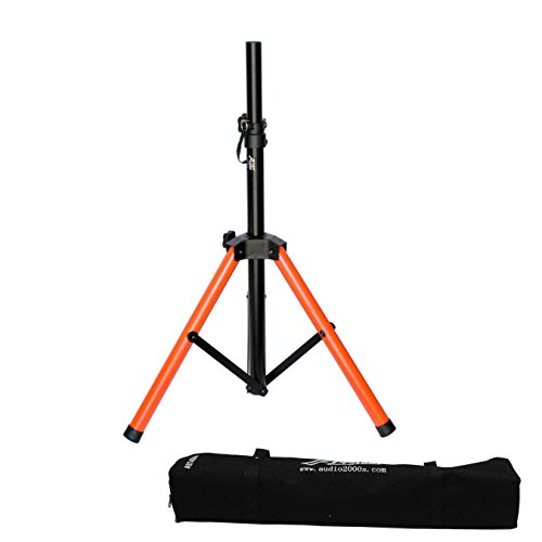 Speaker Stand Carrying Bag - Audio 2000s Short Heavy Duty Speaker Stand with Canvas Carrying Bag AST4398