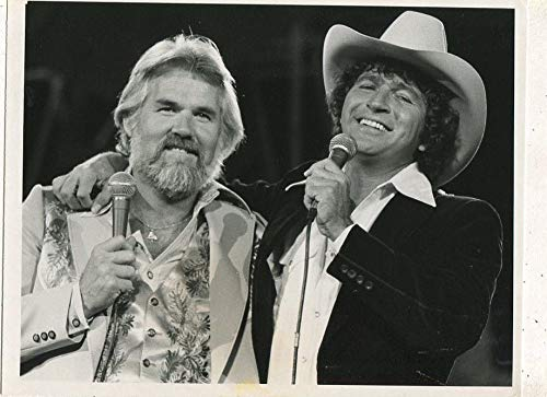 Kenny Rogers Mac Davis-1979 CBS TV press photo MBX45