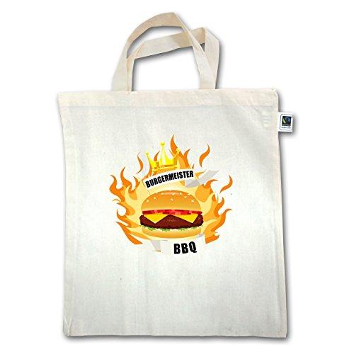 Grill - Burgermeister - Unisize - Natural - XT500 - Jutebeutel kurzer Henkel KiXaUr