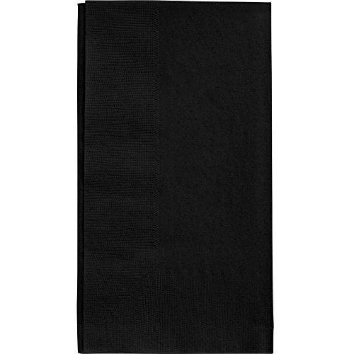 Black Dinner Napkin, Choice 2-Ply, 15