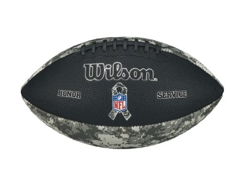 Wilson Sporting Goods Junior NFL Salute to Service Football, Camouflage Wilson Sporting Goods - Team WTDPDC00188