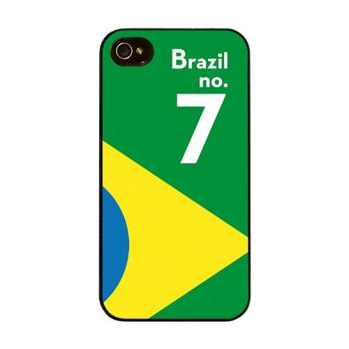 Diabloskinz H0026-0005-0016 Brazil Schutzhülle für Apple iPhone 4/4S