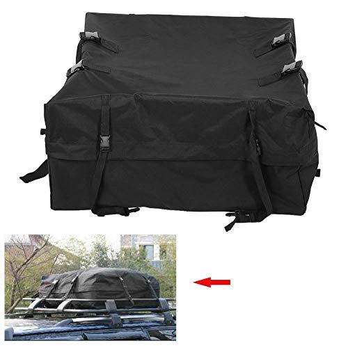 ooftop BlackBag Ra Carrier Bag New Car Cargo Rack Storage Roof Top Luggage Waterproof Rooftop Black New Car Cargo Roof Top