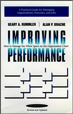 Improving Performance How To Manage The White Space In Organization Chart Geary A Rummler Alan P Brache 9780787900908 Amazon Books