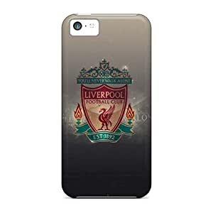Fashion Tpu Case For Iphone 5c- Liverpool Defender Case Cover