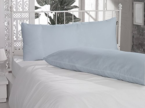 light blue body pillow case - 9