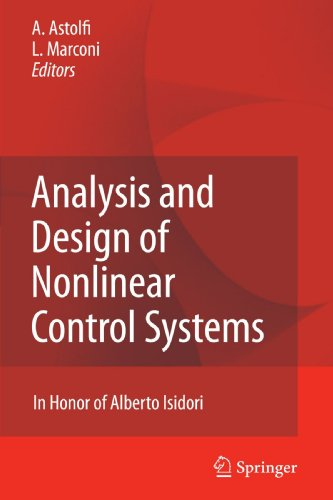 Analysis and Design of Nonlinear Control Systems: In Honor of Alberto Isidori
