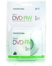Memorex 34 min./1.4 GB Mini DVD-RW (3-Pack)