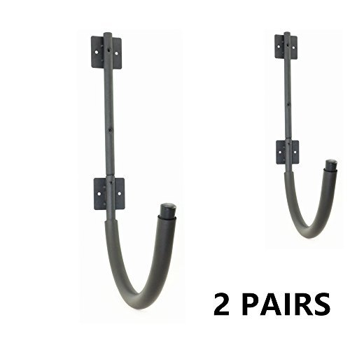 Mrhardware 2 Pairs Kayak Wall Hanger 100 Pound Capacity Kayak Storage Garage or Storage Room