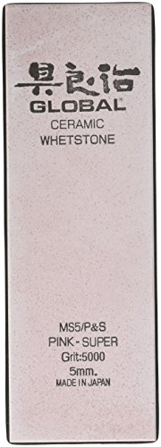 Global MS5/P&S Whetstones S-5000 Grit Super Ceramic, Stainless Steel by Global