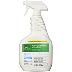 Clorox Healthcare Hydrogen Peroxide Cleaner Disinfectant Spray, Kills Norovirus, 32 fl oz (Pack of 1)