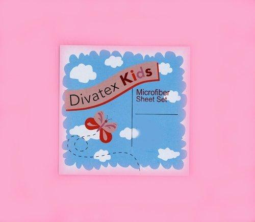UPC 806222396743, Light Pink Full Microfiber Sheet Set Divatex Kids Sheets
