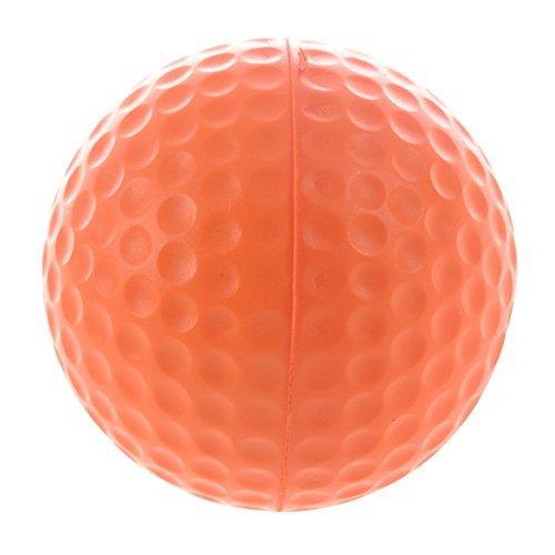 TOOGOO(R) PU Golf Ball Golf Training Soft Foam Balls Practice Ball - Orange