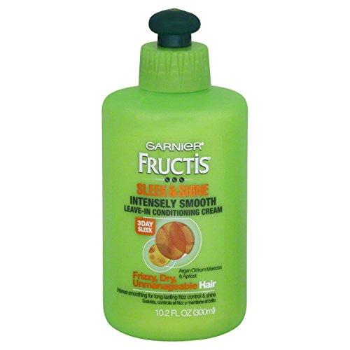 Garnier Fructis Sleek & Shine Intensément lisse congé en crème climatisé, 10.2 Fl. Oz.