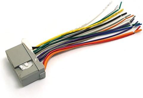 feeldo car audio stereo wiring harness for honda accord/crosstour/civic/crv/fit/odyssey/pilot/ridgeline  pluging into oem factory radio cd: amazon.ca: automotive  amazon canada