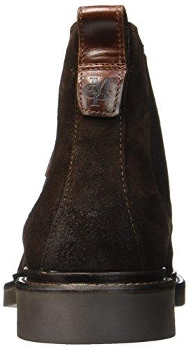 Braun O'Polo 70824105001304 Herren Marc Boots Brown Chelsea Heel Flat Dark 04U7Axw7