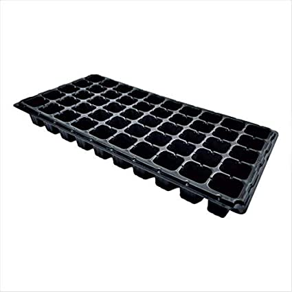 Extra Strength Seed Starter Kit Humidity Dome 50 Cell Plug Tray 10 Pack Combo 10 of Each 1020 Tray