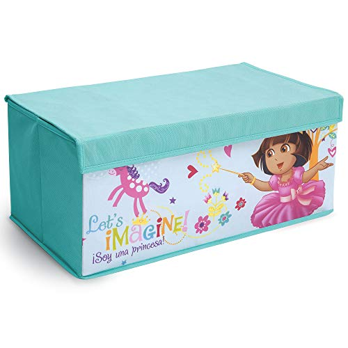 Delta Children Fabric Toy Box, Nick Jr. Dora The Explorer