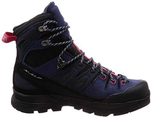 Ltr Trekking Blau Salomon GTX W High 000 Pink Crown Alp X Virtual Wanderstiefel Graphite Damen amp; Blue wIvWfqI0