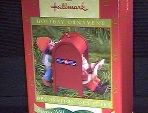 CPC2000 Canadian Post Colorway Repaint of Santa's Mail 1997 Hallmark club ornament 2000