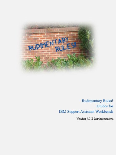 Rudimentary Rules! Guides for IBM Support Assistant for sale  Delivered anywhere in USA