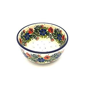 Polish Pottery Bowl – Ice Cream/Dessert – Garden Party