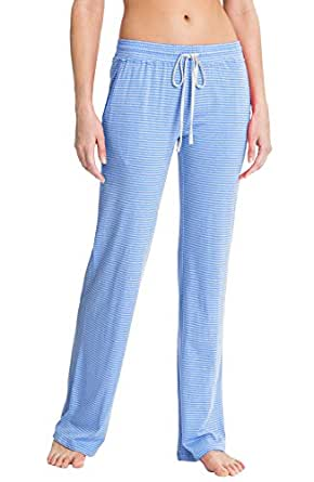 Daniel Buchler Maiyan Womens Super Soft Plush Lounge Pant