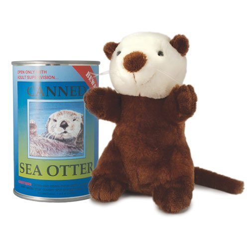 Sea Critters (Canned Critters Stuffed Animal: Sea Otter 6