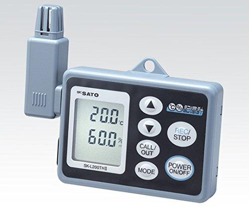 佐藤計量器製作所1-7793-03記憶計(R)SK-L200THⅡα(温湿度一体型) B07BD322WK