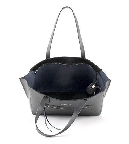 LANCASTER Pur Smooth Shopper Borsa Noir